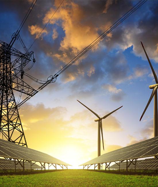 Marché énergétique et industrie renouvelable