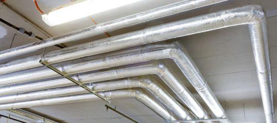 Isolation industrielle des tuyaux
